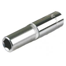 """Головка торцевая 1/4"""" 07 мм  6-гранная удлиненная"""